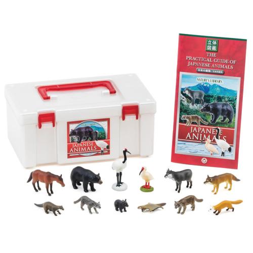 フィギュア 立体図鑑 日本の動物ボックス