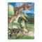 恐竜10種のイラスト