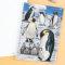 使いやすい幅広の8mm横罫、セミB5 リングノート ペンギン