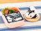 通勤・通学のお弁当、おむすびやパスタの彩りに