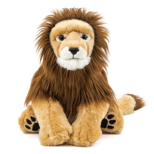 ライオンのオス親のぬいぐるみ