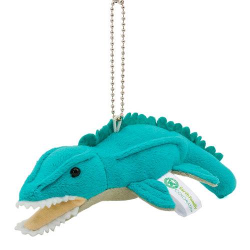 ぬいぐるみマスコット 海の爬虫類モササウルス
