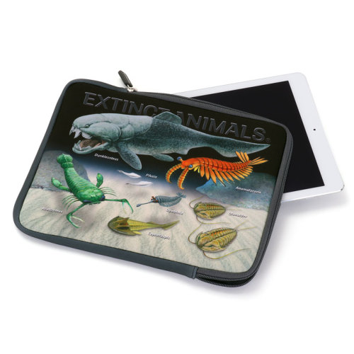 タブレットケース 古生代の生物